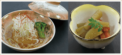 雪国の伝統食